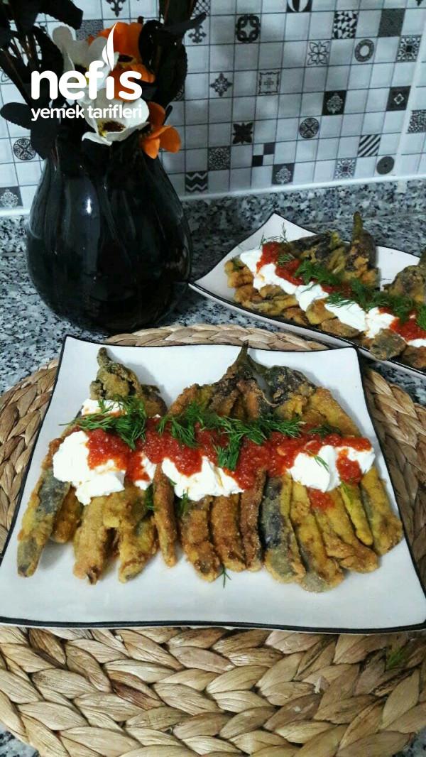 Yumurtalı Mısır Unda Patlıcan Kızartma (Bu Yemek Patlıcan Yemeklerin Baş Tacı Oldu)