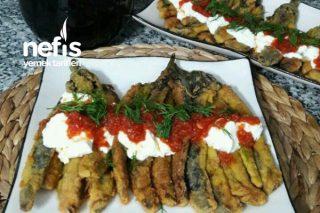 Yumurtalı Mısır Unda Patlıcan Kızartma (Bu Yemek Patlıcan Yemeklerin Baş Tacı Oldu) Tarifi