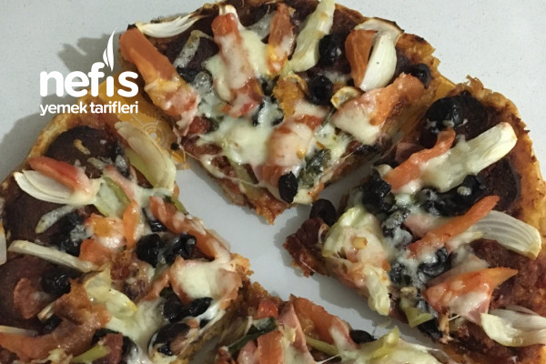 Bazlamadan Süper Pizza Tarifi