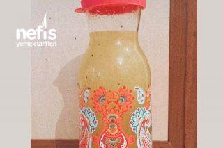 En Kolay Ev Yapımı Nefis Limonata (1 Portakal 1 Limon İle) Tarifi