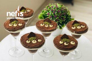 Köpük Çikolatalı Kup Tarifi