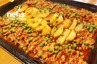 Nefis Sosuyla Fırında Tavuk Bonfile Tarifi