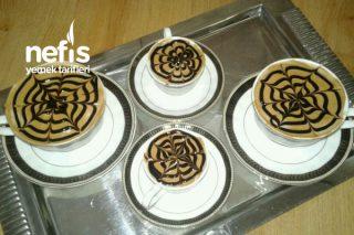 Şekli Şahane Sütlü Kahveler Tarifi