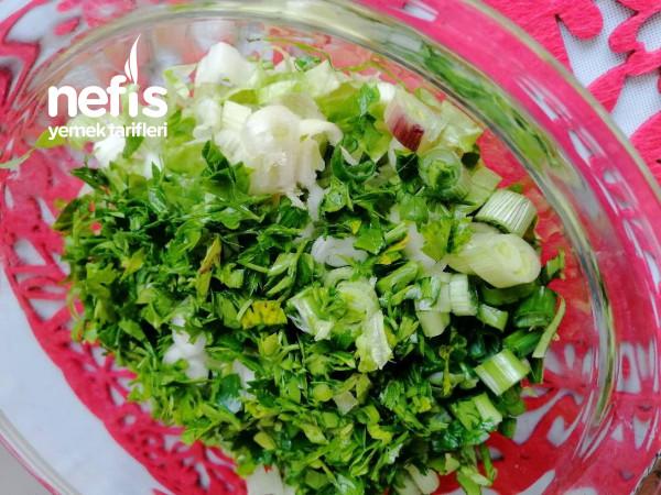Yumurta Salatası (Yaz İçin İdeal)