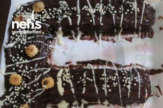 Bisküvili Doğum Günü Pastası Tarifi