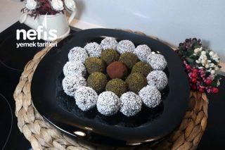 Çikolatalı Pudingli İrmik Topları (videolu) Tarifi