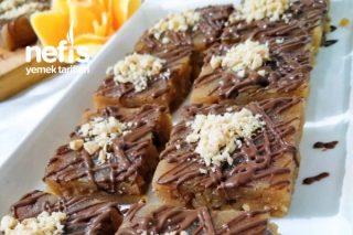 Çikolatalı Tahinli Kesme Un Helvası Kandil Güzeli Tarifi