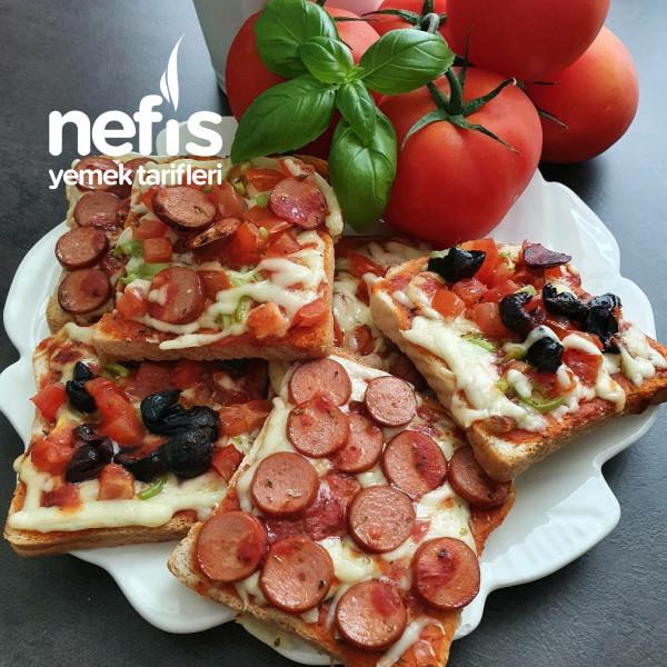 Çoçukların Efsanesi Şipşak Pizza Toast