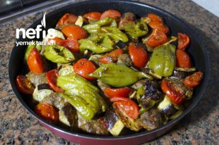 Sebzeli Patlıcan Köfte – Kebap Tadında Bir Lezzet Tarifi