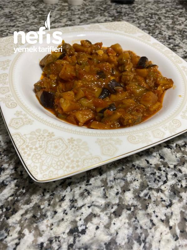 Sulu Patlıcan Yemeği
