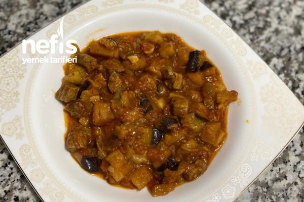 Sulu Patlıcan Yemeği Tarifi