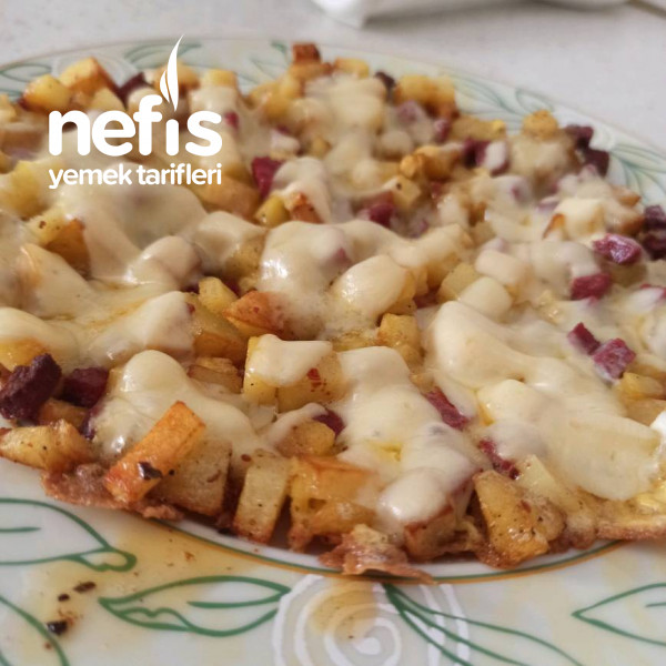 Tavada Patates Pizza