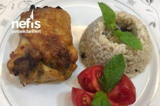 Tavuk Sarma (Mantar ve Kuru Kayısı Dolgulu) Tarifi