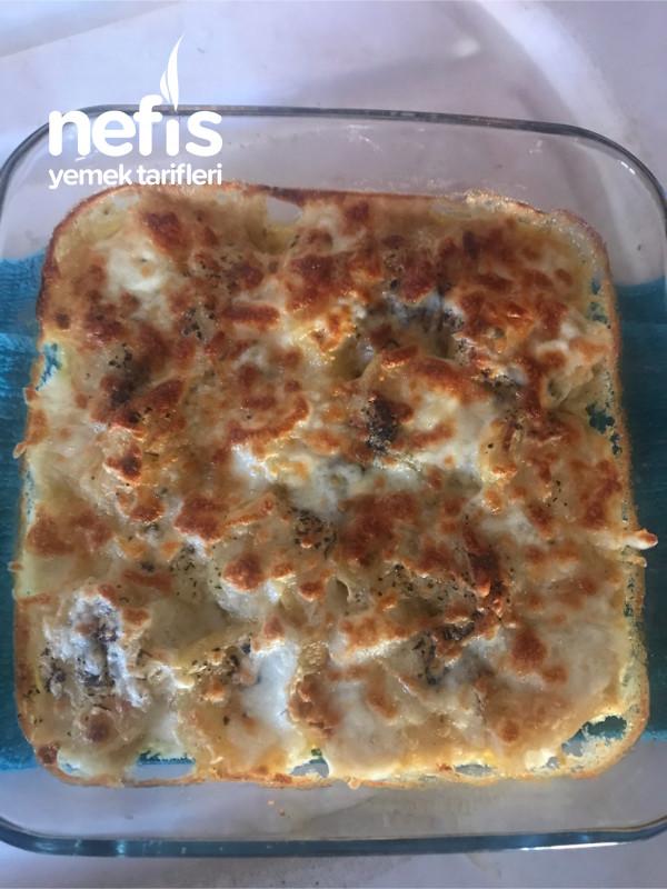 Beşamel Soslu Fırın Patates