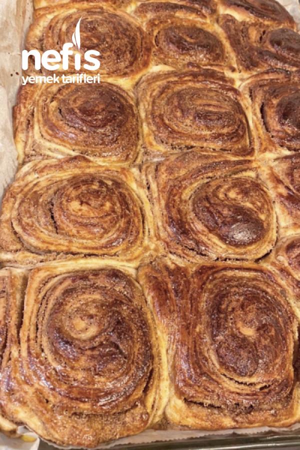 Cinnabon Usulü Haşhaşlı Çörek