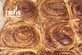 Cinnabon Usulü Haşhaşlı Çörek Tarifi