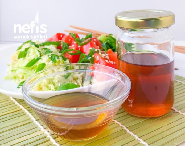 Çok Amaçlı Amadzu Sos (Japon Sosu) ve salata fikri