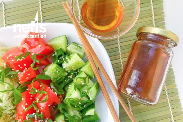 Çok Amaçlı Amadzu Sos (Japon Sosu) Ve Salata Fikri Tarifi