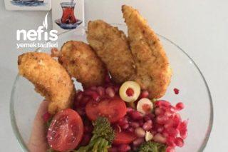 Enfes Çıtır Tavuk Dilimleri (Çocukların En Sevdiği Lezzet) Tarifi