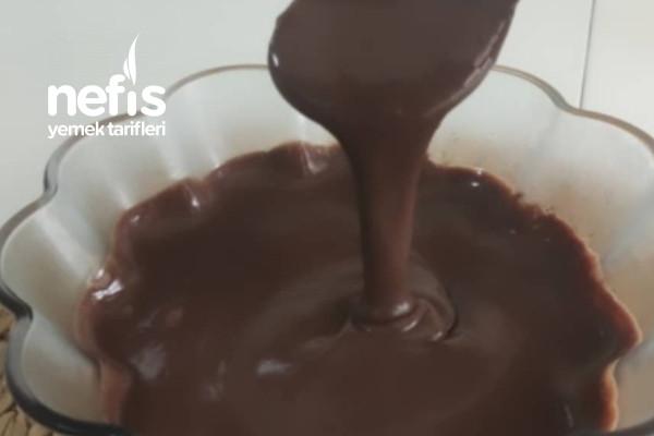 Ev Yapımı Çikolatalı Sos (Pürüzsüz Kıvam Harika Lezzet) (Videolu) Tarifi
