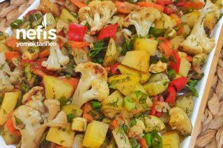 Karışık Sebzeli Salata Tarifi