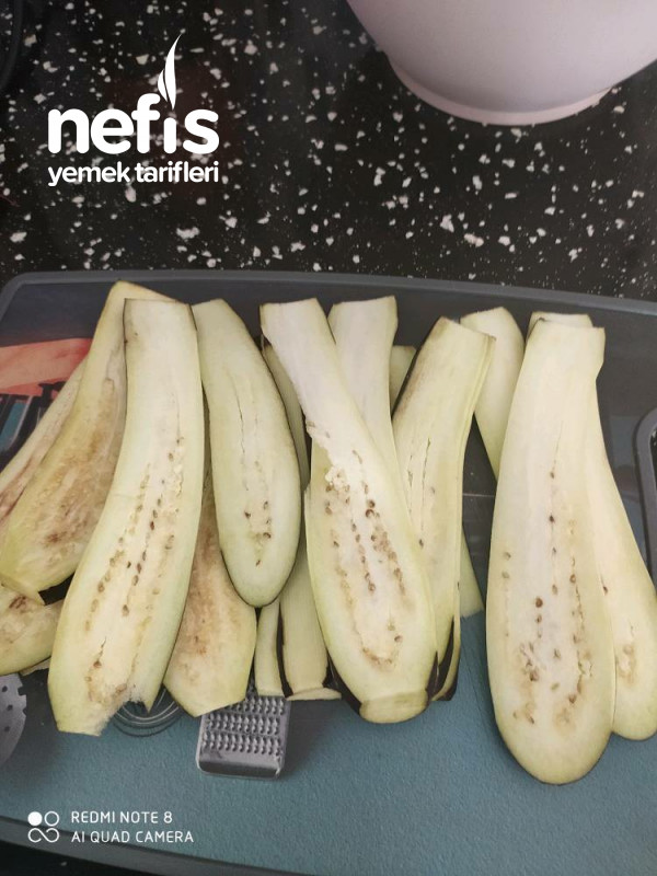Köfteli Patlıcan Rulo