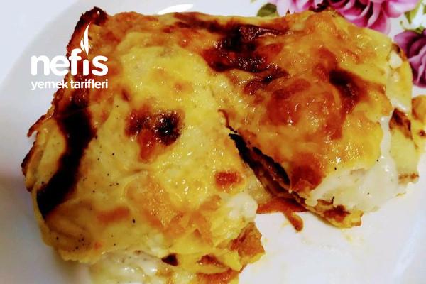 Krepli Sultan Kebabı(Tavuklu) Tarifi