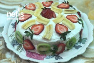 Meyveli Muhteşem Yaş Pasta Tarifi