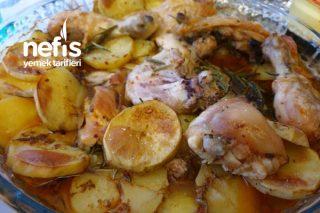 Taze Biberiyeli Tavuklu Patates Fırında Tarifi