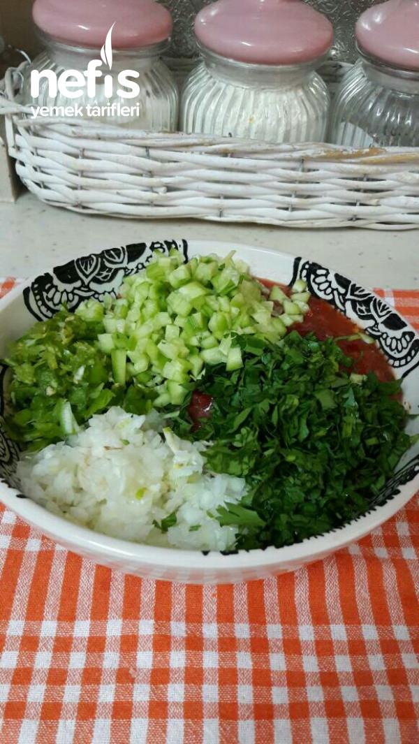 Yedikçe Yedirten ,ezme Salata