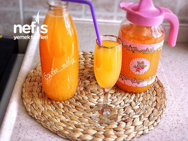 3 Çeşit Meyve İle Limonata(limon Portakal Çilek)