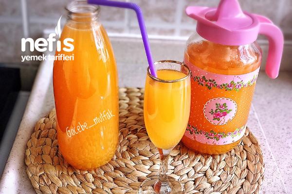 3 Çeşit Meyve İle Limonata( Limon Portakal Çilek)