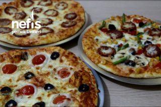 Bol Malzemeli 3 Spesiyal Pizza (Videolu) Tarifi