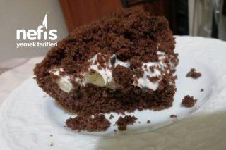 Çikolata Parçalı Muzlu Köstebek Pasta Tarifi
