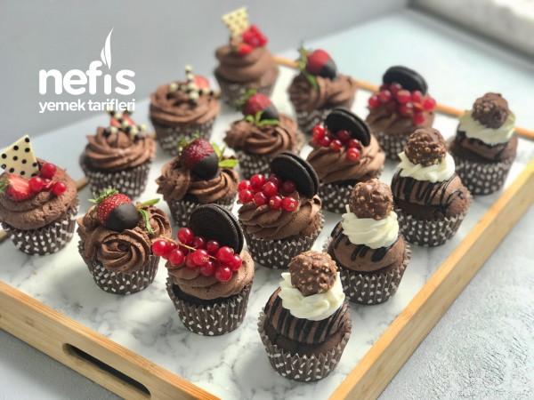 Çikolatalı Cupcake (Videolu)