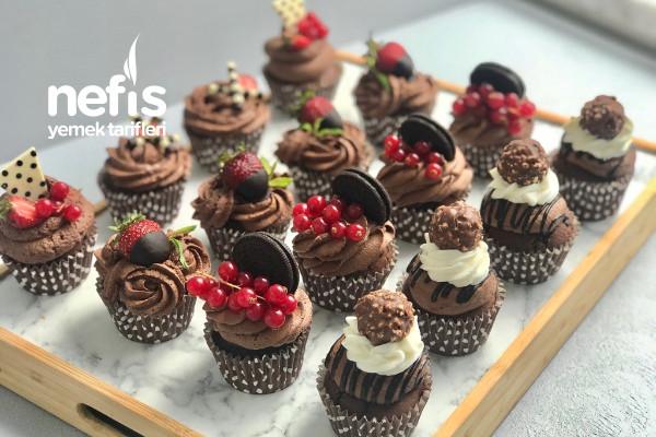 Çikolatalı Cupcake (Videolu) Tarifi