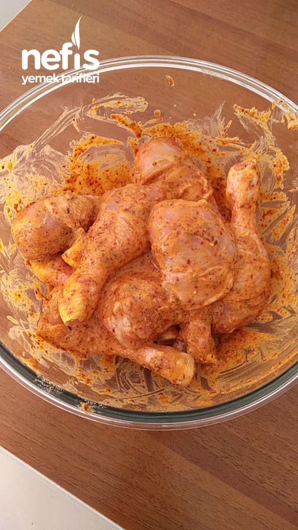 Dışı Çıtır Çıtır İçi Pamuk Gibi Fırında Tavuk Baget
