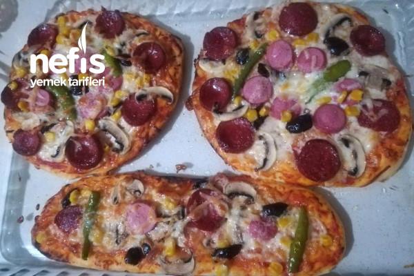 Klasik Pizza Tarifi