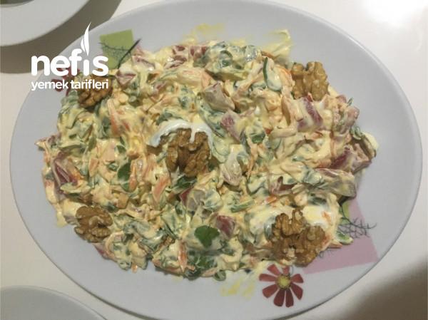 Köz Biberli Semizotu Salatası