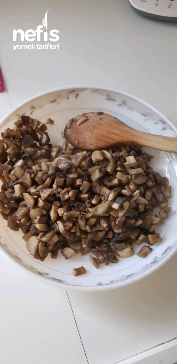 Mantarlı Patatesli Çıtır Börek