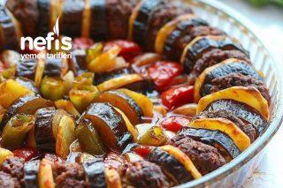 Patlıcan Patates Ve Kabak Kebabı Tarifi