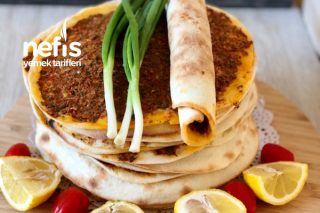 Pizza Tavasında Lahmacun Tarifi