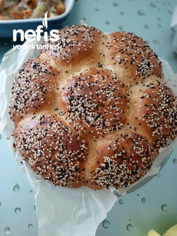 Puf Puf Yumuşacık Çiçek Ekmek
