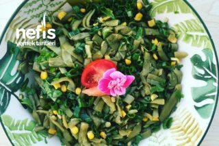 Sağlıklı Yeşil Rüya (Yeşil Fasulye Salatası) Tarifi