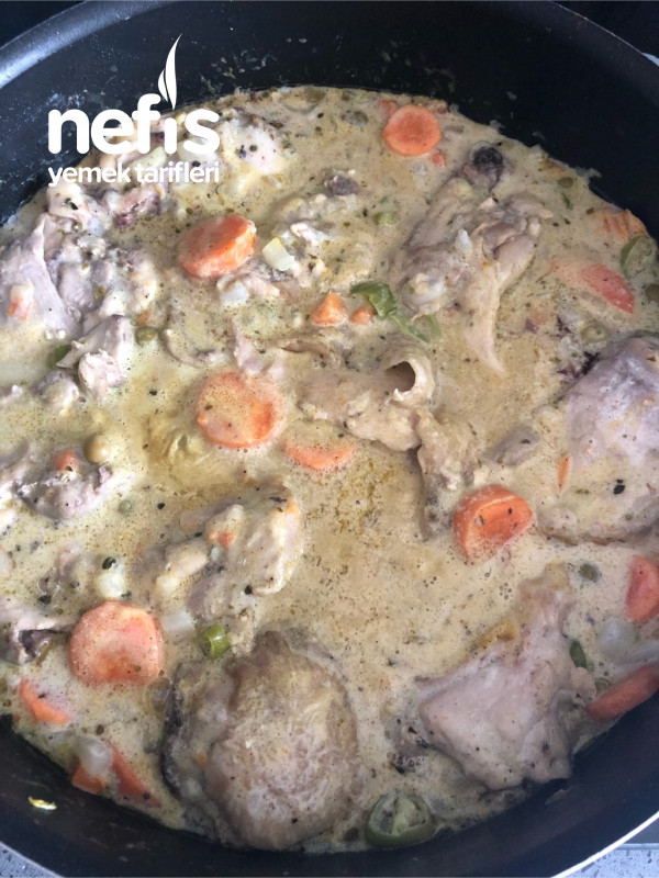Baharatlı Kremalı Tavuk
