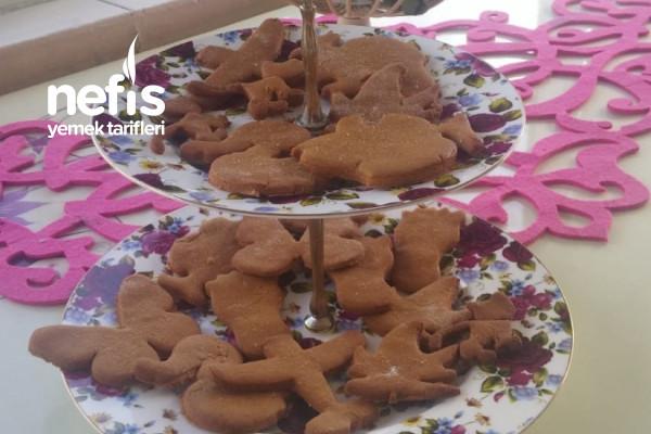 Çocuklarla Birlikte Yapılan Kurabiye Gingerbread Tarifi