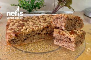 Elmalı Tarçınlı Islak Kek (Crumble Cake) Tarifi