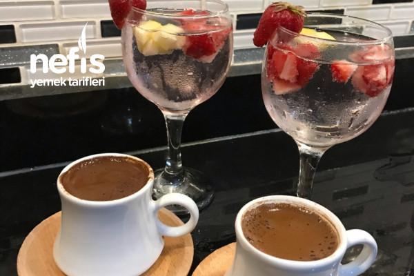 Ev Yapımı Meyveli Soda /Türk Kahvesi Tarifi