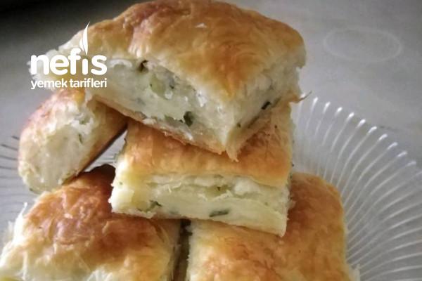 Ev Yapımı Peynirli Börek (60 Katlı) Tarifi