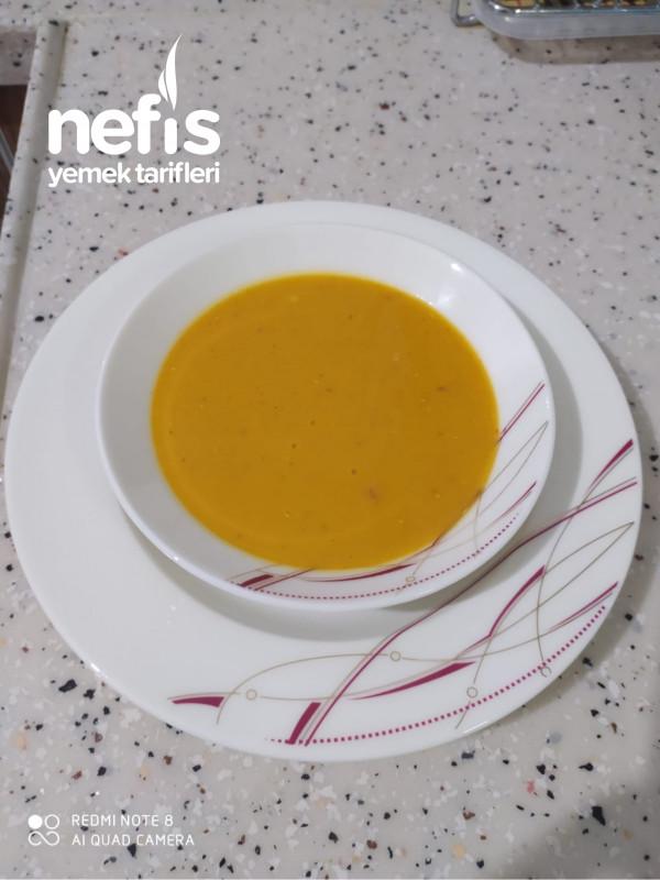 Farklı Kırmızı Mercimek Çorbası